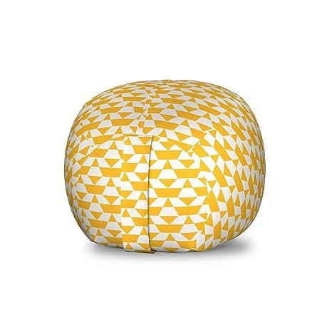 Surprising Amazon Com Lunarable Geometric Storage Toy Bag Chair Ibusinesslaw Wood Chair Design Ideas Ibusinesslaworg