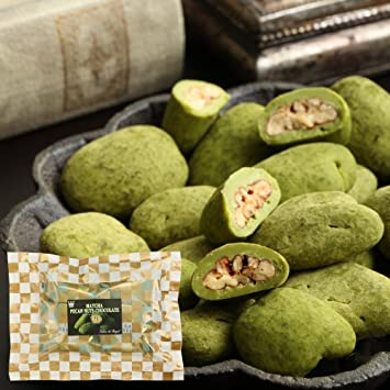 6e8cf74cb70 Amazon.com   Salon De Royal Matcha pecan nuts chocolate bag ...