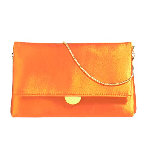 Parfois - Cartera de mano para mujer XX, color Naranja, talla Medium: Amazon.es: Zapatos y complementos