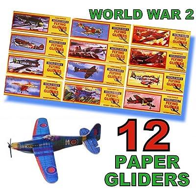 12 WORLD WAR 2 FLYING GLIDERS by Henbrandt