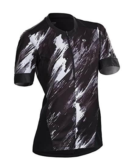 ef89ab9e4 SUGOi 2018 Women s Pulse Short Sleeve Cycling Jersey - U581010F  (Black Brush Print -