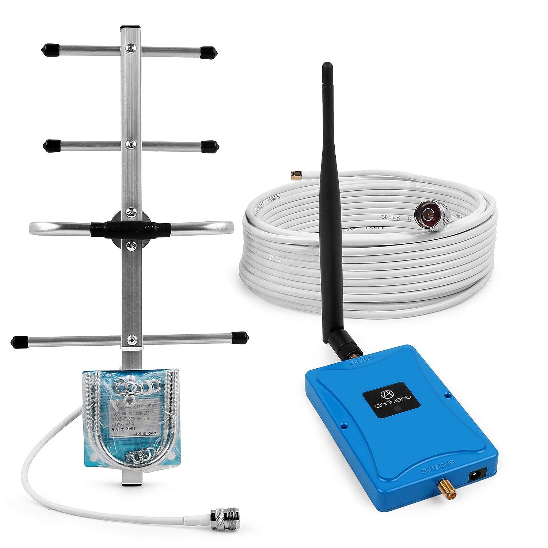 ANNTLENT Mobile Signal Booster 800MHz (Band 20) Boost la señ al LTE 4G con Antena Externa omnidireccional para Uso domé stico y de Oficina ANNTLENT Ltd. AN0303
