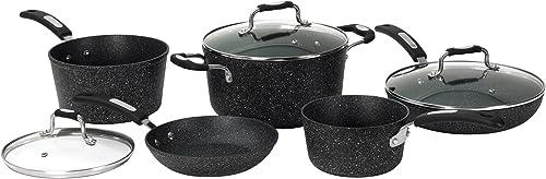 ROCK by Starfrit 030930-001-0000 8-częściowy zestaw naczyń kuchennych