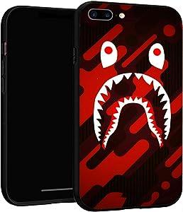 iPhone 7 Plus Case 8 Plus Case,Case Cover for iPhone 7P/8P (Bape-Shark-2)