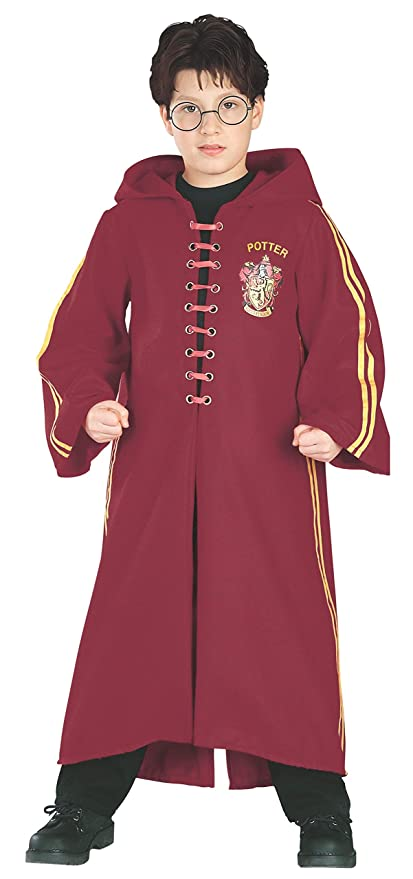 Amazon.com Harry Potter Deluxe Quidditch Robe, Medium (Size 8,10) Toys \u0026  Games