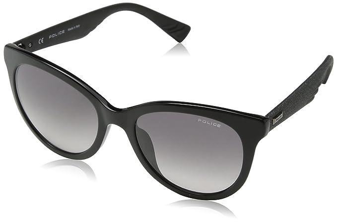 Police Sparkle 2 Gafas de Sol, Negro (Shiny Black), 46 para ...