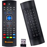 Air Mouse for Android tv Box, Gimibox MX3 Pro Wireless Keyboard 2.4G Smart TV Remote with Motion Sensing Game Handle Android