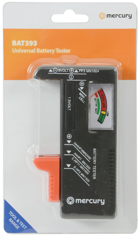 mercury de pilas Universal con indicador
