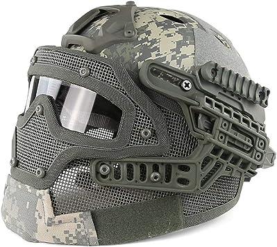 Máscara De Protección Airsoft Tactical Airsoft Full Face ...