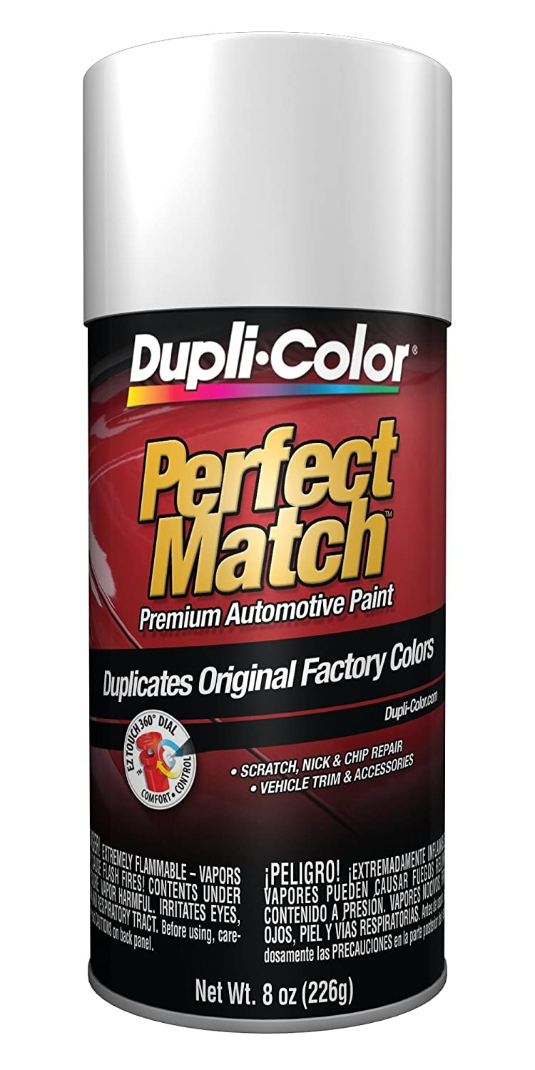 Dupli-Color Universal White Perfect Match Aerosol Paint}