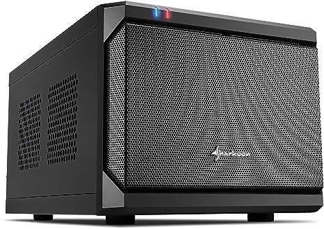 Sharkoon qb one - caja de ordenador, pc gaming, mini-itx, negro.: Amazon.es: Informática