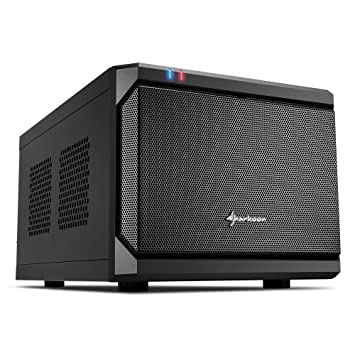 Sharkoon QB ONE - Caja de Ordenador, PC Gaming, MINI-ITX, Negro: Amazon.es: Informática