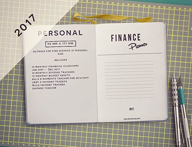Home Finance Planner Inserts