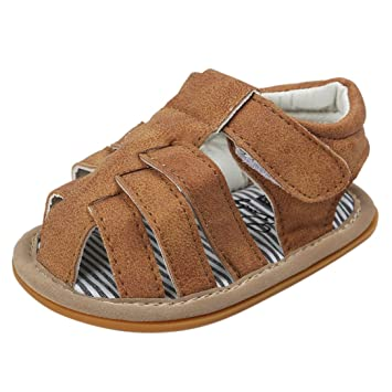 Bébé D été Chaussures, absolument antidérapant Semelle souple pour enfant bébé  garçon Sandales à 5902ad0d608f