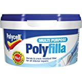 Sikkens PLCMPPR600GS Polycell MPPR600GS Multi Purpose Polyfilla Ready Mixed 600g