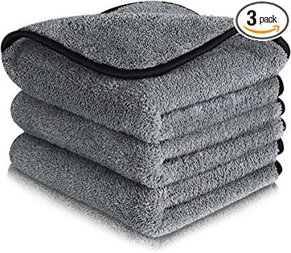 Super Absorbent Microfiber Cleaning Cloth Lint Free - Pack of 3