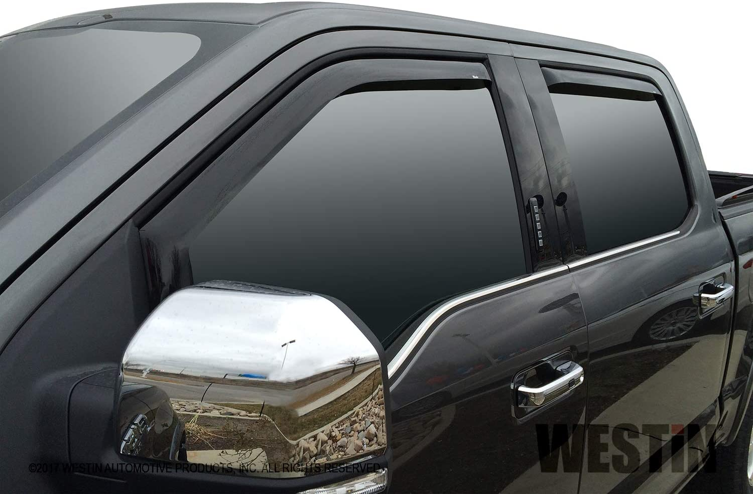 2015-2018 Ford F-150 SuperCrew In-Channel Wind Deflectors