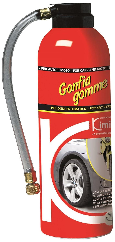 Kimicar 0400300 Ripara e Gonfia Gomme, 300 ml, Bianco, Set di 1 Kimicar SRL