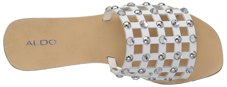 ALDO B0791TR43W Women's Unterman Slide Sandal B0791TR43W ALDO 5 B(M) US|White ef1c38