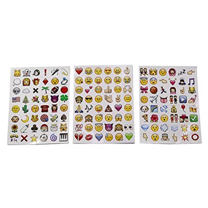 Amazon T Meka 2leaves Emoticon Sticker For Mobile Phone Laptop