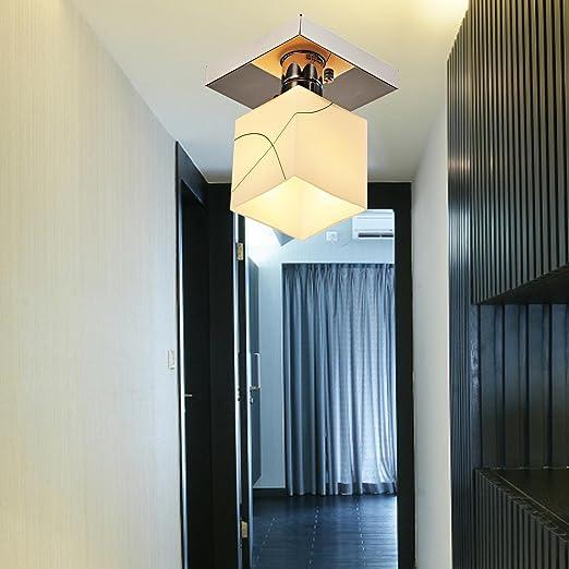 AOLight Lámpara simple y elegante de 1 pieza para pasillo ...