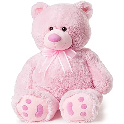 Big Teddy Bear - Pink: Toys & Games