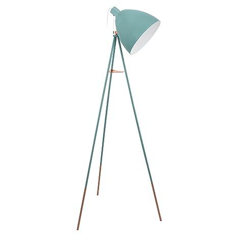 huge selection of 7f1e1 9ffce EGLO Floor Lamp, Steel, E27, 60 W, Mint: Amazon.co.uk: Lighting
