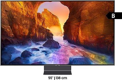 Samsung GQ55Q90RGTXZG 138 cm (55 Pulgadas) Plano QLED TV Q90R ...