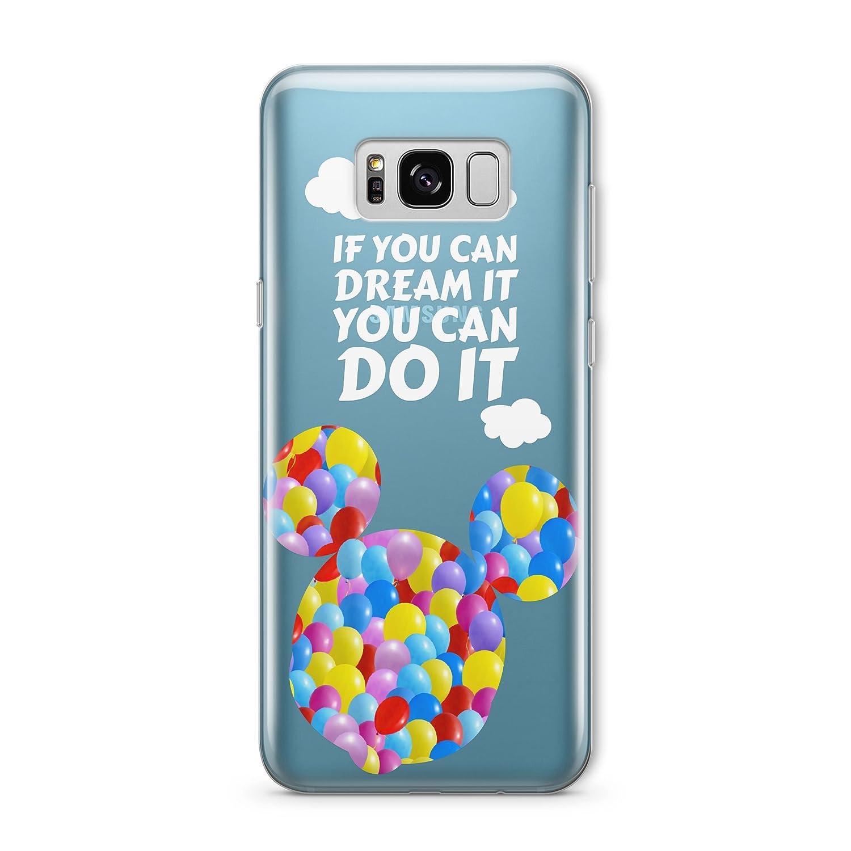 cartoon disney quote on it phone case