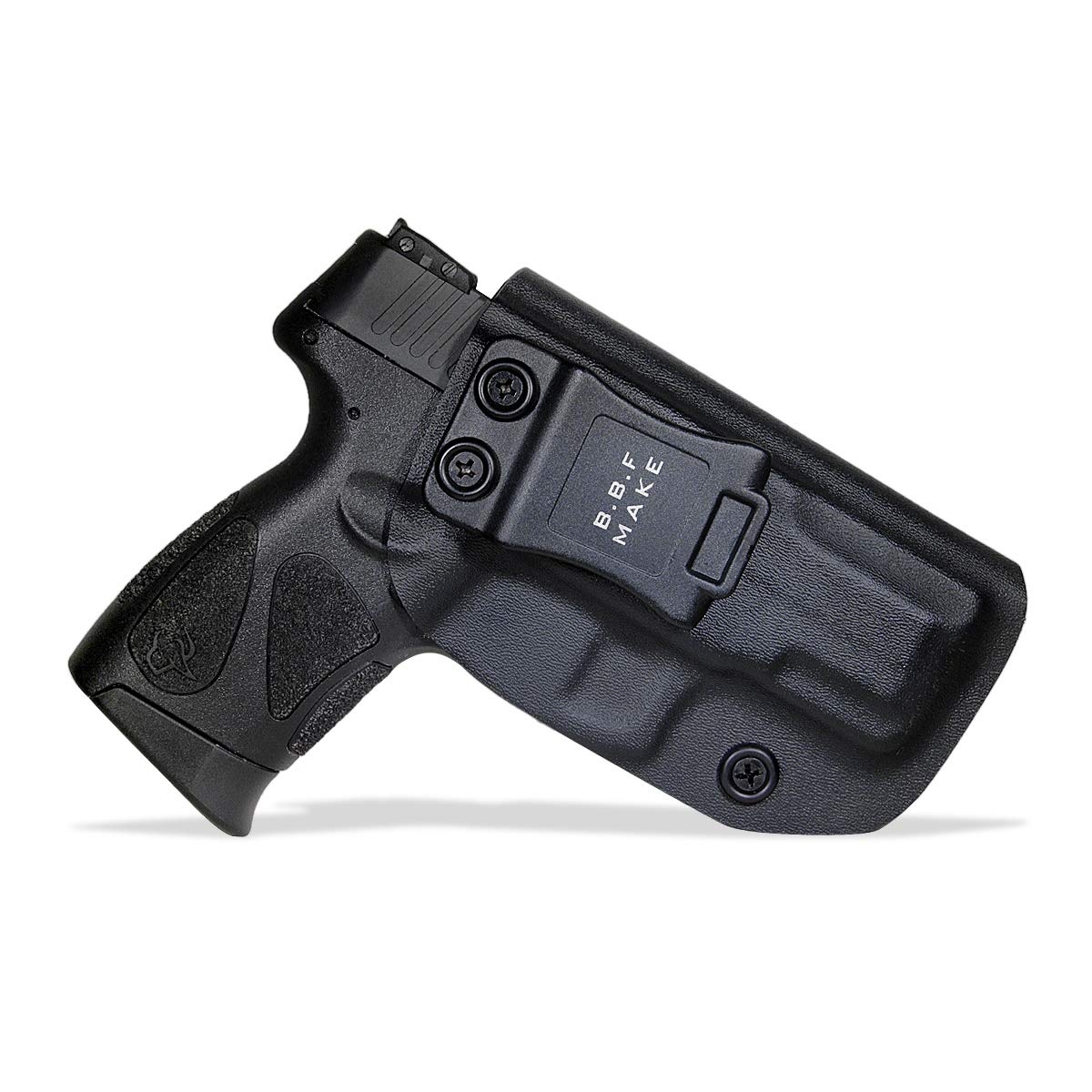 B.B.F Make IWB KYDEX Holster Fit: Taurus G2C & Millennium G2 PT111 / PT140 | Retired Navy Owned Company | Inside Waistband | Adjustable Cant | US KYDEX Made (Black, Right Hand Draw (IWB)) by B.B.F Make