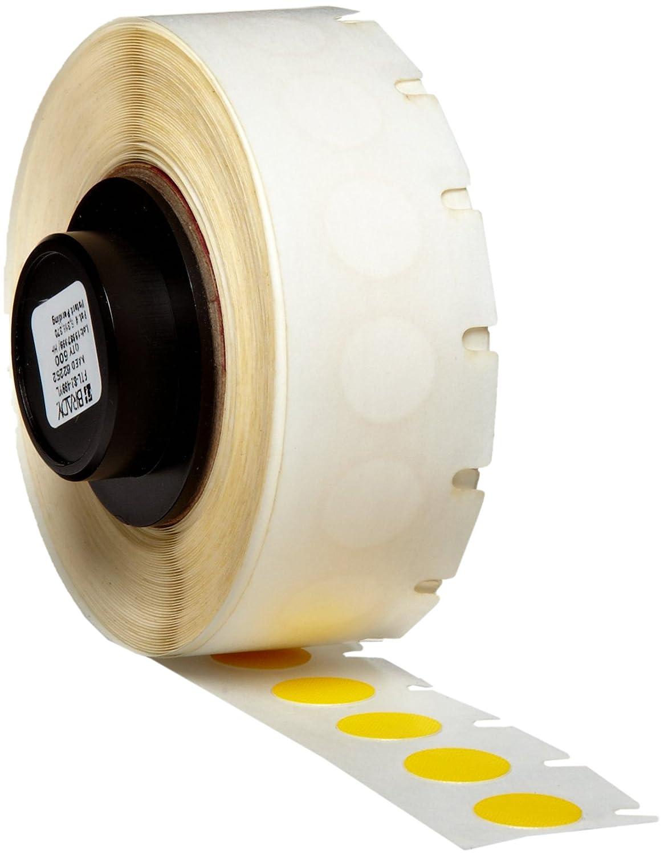500 per Roll Brady PTL-82-499-YL TLS 2200 and TLS PC Link B-499 Nylon Cloth Matte Finish Yellow Label