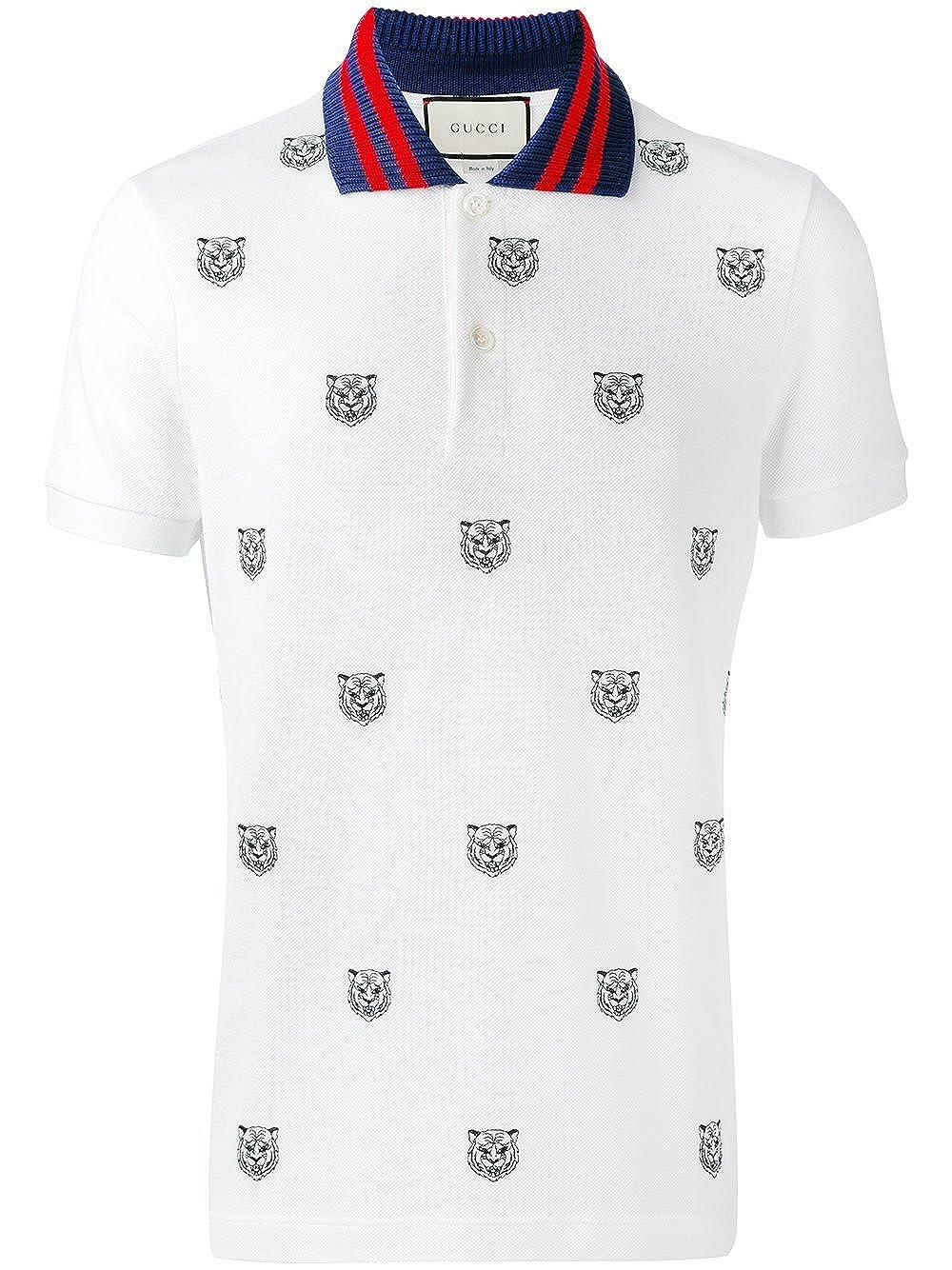 Gucci - Polo - para Hombre Blanco 46: Amazon.es: Ropa y accesorios