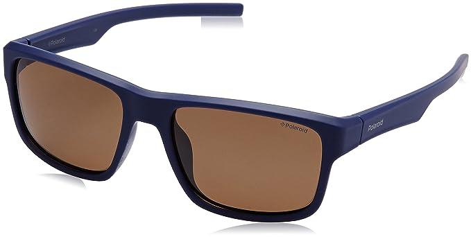 Polaroid Herren Sonnenbrille Pld 3018/S IG JC9, Blau (Bluette/Brown Pz), 55