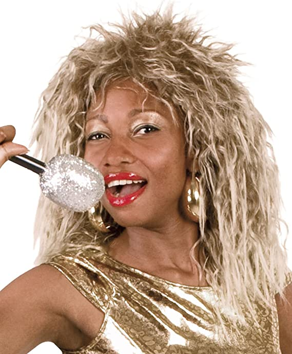 d35ec01fc3 Boland 86374 Tina Turner Style Rock Queen Wig  Amazon.co.uk  Toys   Games