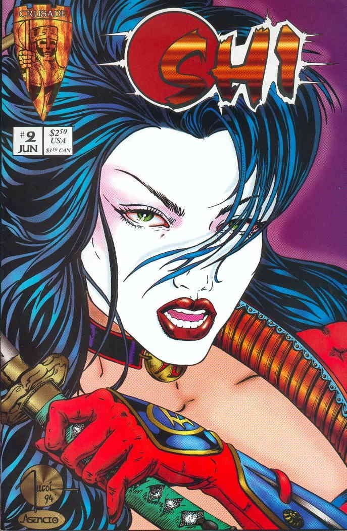 #6 William Tucci VF SHI: The Way of the Warrior Crusade-1995