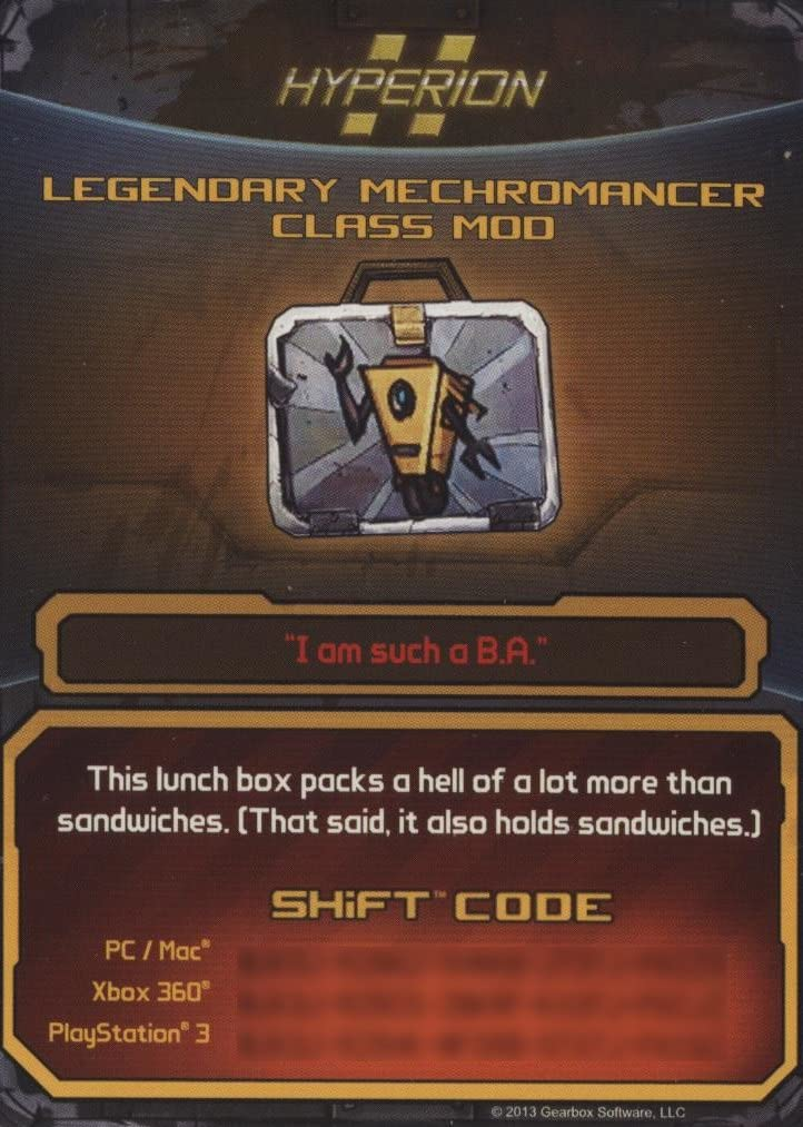 Amazon com: Borderlands 2 Legendary Mechromancer Class Mod