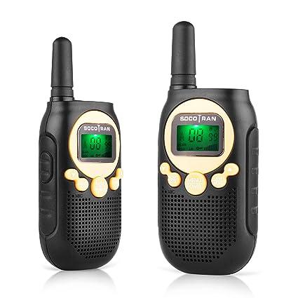 Walkie Talkies Niños Recargable PMR446 Radio para Niños y ...