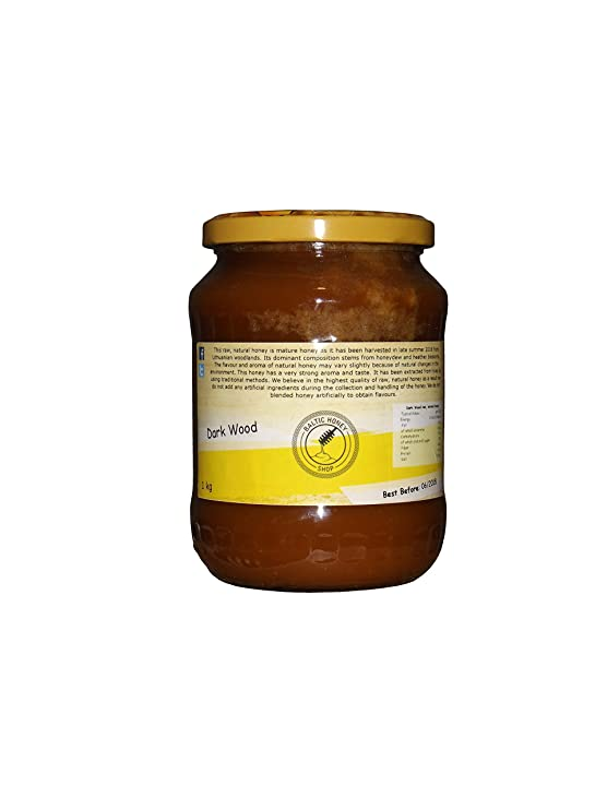 Miel Pura y Natural 1 kg (Bosque Oscuro): Amazon.es: Alimentación y bebidas