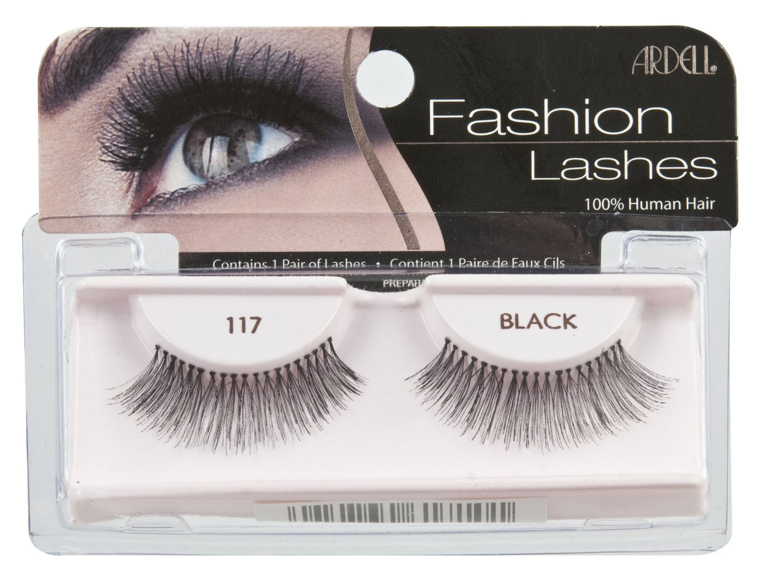 Ardell Fashion Lashes Pair Black - 117 (Pack of 3)