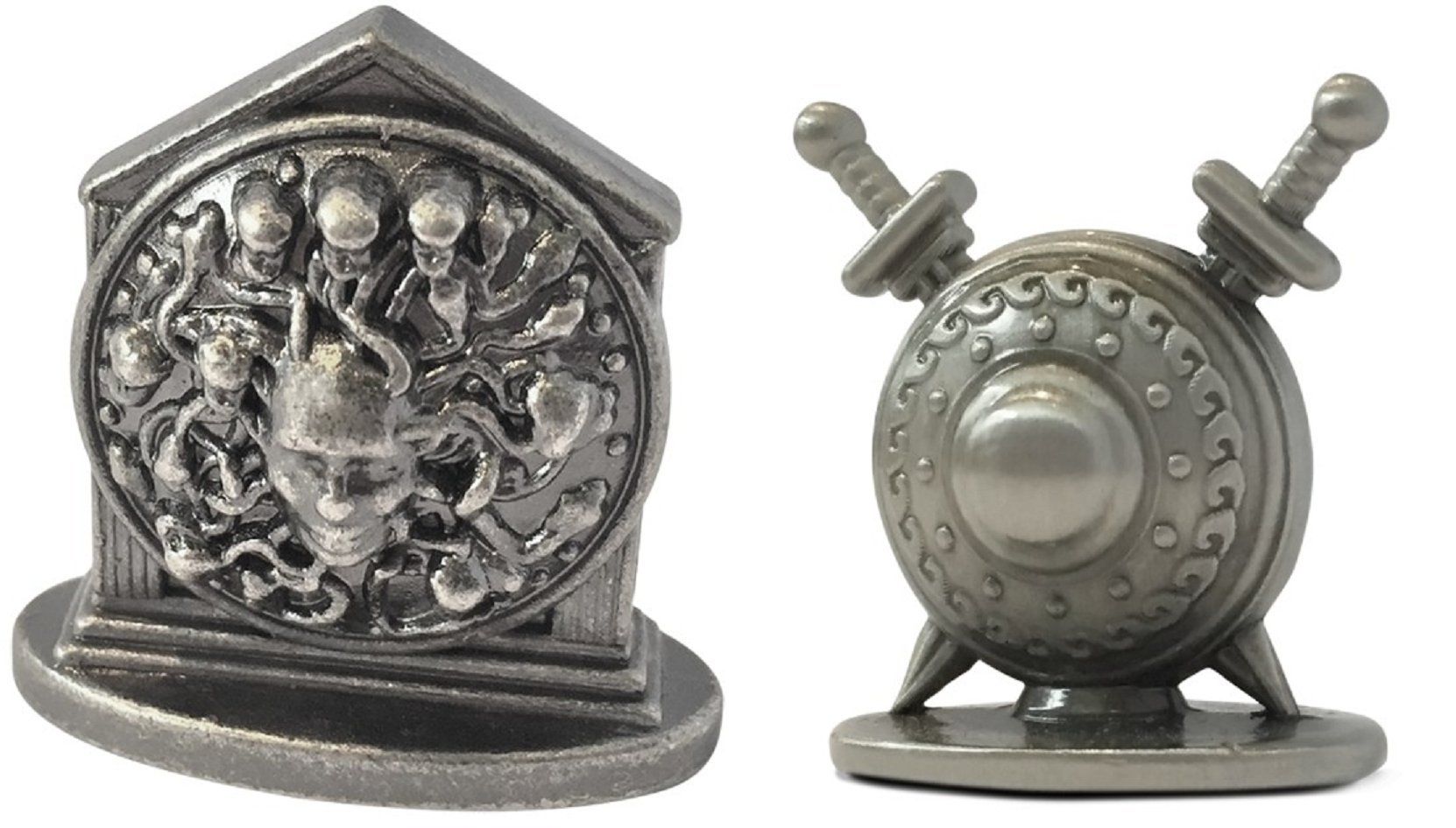 7 Wonders Duel : Pantheon Metal Minerva and Military Pawn Bundle