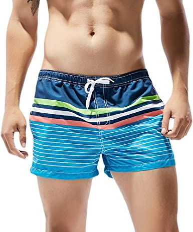 Mens University Shorts Sportwear Quick Dry Board Training Summer Swim Running Trunks Shorts Beachwear Suits with Lining