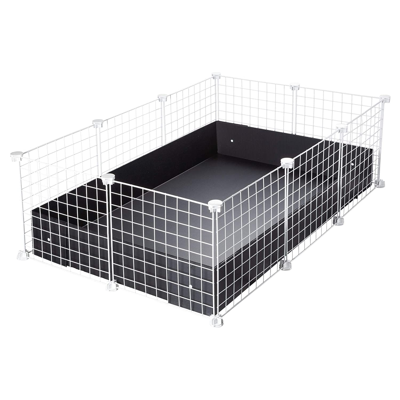 CagesCubes - Jaula CyC Medium (2X3 Paneles en Blanco) + Base de ...