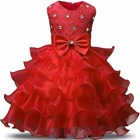 20fe92d17a385 Amazon.com: Children Luxury Party Formal Dress for Wedding Birthday ...