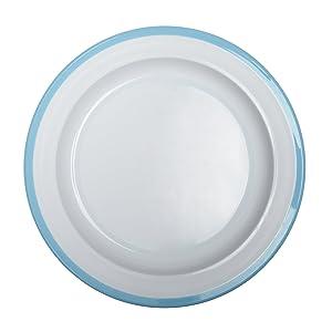 OXO Tot Big Kids Plate with Non-Slip Base- Aqua