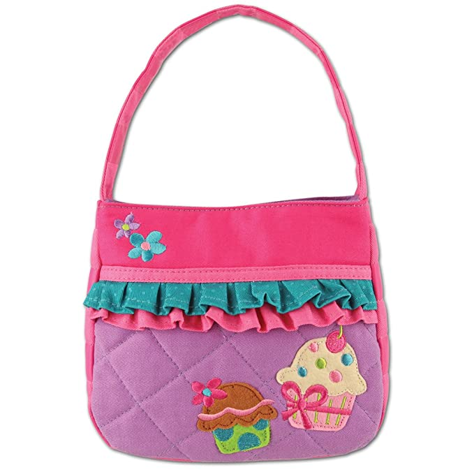 Stephen Joseph Quilted Purse, Cupcake