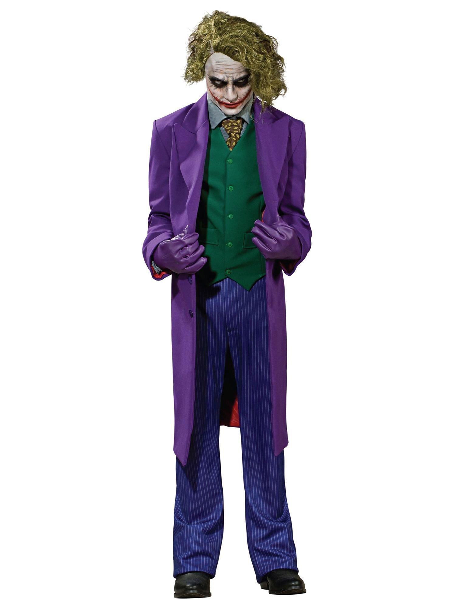 Super Deluxe The Joker Adult Costume - Medium