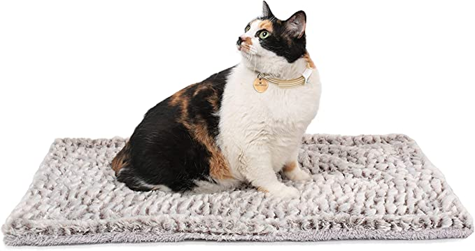 Klemon Self Heating Pet Pads Pet Blanket for Cat//Dog,Pet Heating Pad,Self Warming Cushion Mat for Cats Dogs,Self Heated Cat Dog Bed//Pet Thermal Mat Blanket Ecological