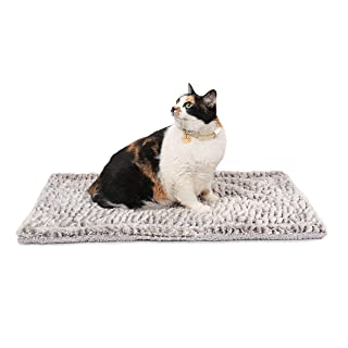 """Self Heating Cat Pad/Self-Warming Cat Dog Bed / 27.5"""" x 18.5"""" Thermal Cat Mat for Outdoor and Indoor Pets"""