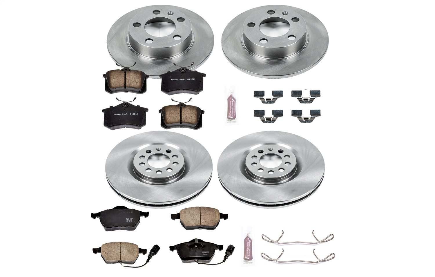 Autospecialty KOE915 1-Click OE Replacement Brake Kit Power Stop