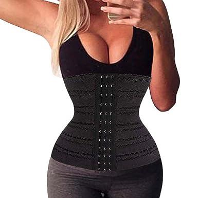 5a87926dea5 Woman Premium Waist Trainer Corset Body Tummy Fat Burner Cincher Workout  Shaper (M